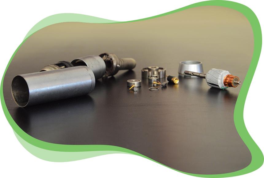 L'atelier dmd Réparations d'Instruments Dentaires - Etapes Réparation d'un Micromoteur